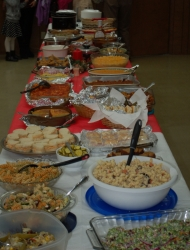 Covered Dish Celebration at MJPC